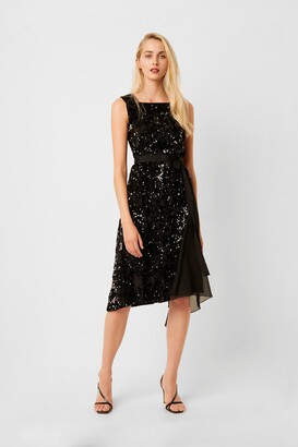 French Connection Eano Sequin Mix Dress
