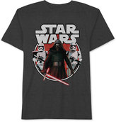 JEM Men's Big & Tall Star Wars Kylo Ren and Stormtroopers with Lightsabers Graphic Print T-Shirt