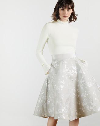 Ted Baker ALDARA Blossom Jacquard Midi Dress