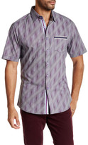 Smash Wear Printed Short Sleeve Woven Shirt