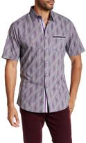 Smash Wear Printed Short Sleeve Woven Shirt
