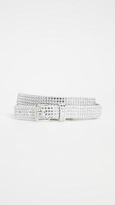 Off-White Crystal Belt