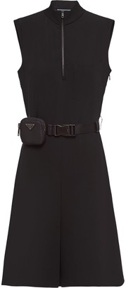Prada Technical Broadcloth Dress