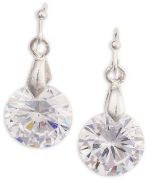 Cezanne Cubic Zirconia Drop Earrings