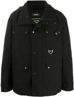 Diesel Techno Poplin Field jacket