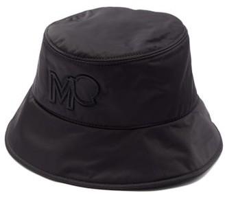 Moncler Logo-embroidered Bucket Hat - Black