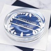 Clouds and Currents Personalised Papercut Paperweight