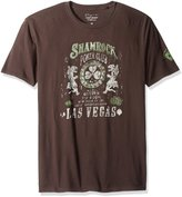 Lucky Brand Men's Shamrock Poker Graphic Tee