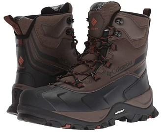 Columbia Bugaboot Plus IV Omni-Heat Wide (Cordovan/Dark Adobe) Men's Cold Weather Boots