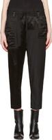 Haider Ackermann Black Patchwork Lounge Pants