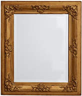 Rejuvenation Large Beveled Mirror w/ Gold Painted Frame