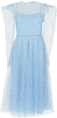 Philosophy di Lorenzo Serafini Embellished Mesh Dress