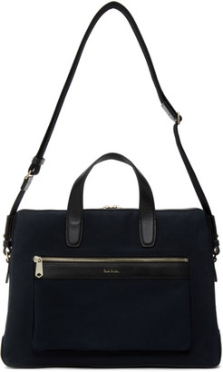 Paul Smith Navy Slim Folio Briefcase