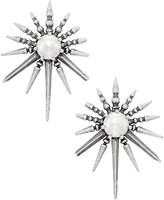 Kendra Scott Sayers Statement Earrings in Antique Silver