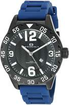 Oceanaut Men's OC2713 Aqua One Analog Display Quartz Blue Watch
