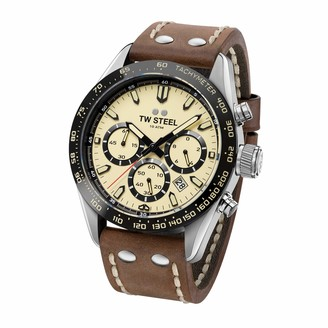 TW Steel Chrono Sports Stainless Steel Japanese-Quartz Silicone Strap