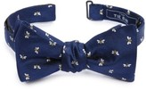 The Tie Bar Men's Reed's Bees Silk Bow Tie