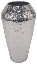 Threshold Textured Vase Silver Small