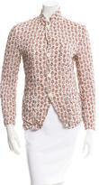 Junya Watanabe Paisley Print Button-Up Top