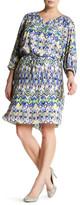 NYDJ Alexa Pleat Back Dress (Plus Size)