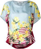 Blugirl floral print blouse - women - Silk - 44