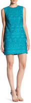Cynthia Steffe Jade Sleeveless Tiled Mesh Shift Dress