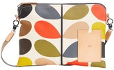 Orla Kiely Matt Laminated Classic Multi Stem Travel Pouch Travel Pouch