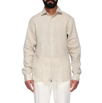 Ermenegildo Zegna Linen Shirt With French Collar