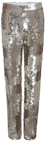 Chloé Sequinned trousers
