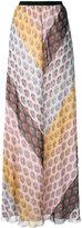 Giamba floral print skirt