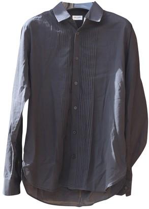 Saint Laurent Black Cotton Shirts