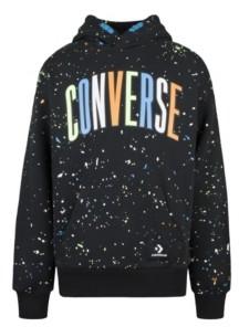 Converse Big Boys Splatter Print Pullover Hoodie