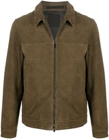 Theory lightweight leather jacket