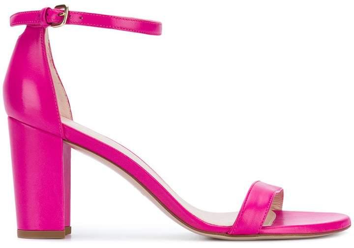 Stuart Weitzman chunky heel sandals