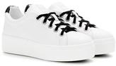 Kenzo Platform Leather Sneakers
