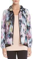 Karen Kane Active Abstract Floral Print Jacket