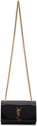 Saint Laurent Black Patent Small Kate Bag