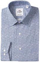 Ben Sherman Daisy Print Tailored Slim Fit Dress Shirt