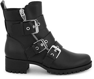 Dolce Vita Palmera Faux-Leather Combat Boots