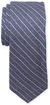 Ben Sherman Navy Chevron Stripe Silk Tie