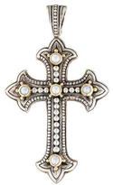 Konstantino Pearl Classics Cross Pendant