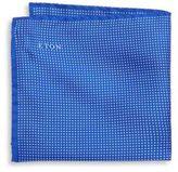 Eton Dotted Silk Pocket Square