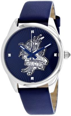 Jean Paul Gaultier Women's Navy Tatoo Watch