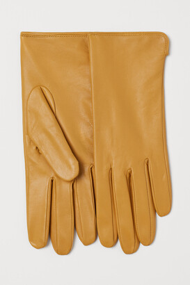 H&M Leather gloves