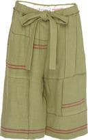 J.W.Anderson Patchwork Tea Towel Linen Short