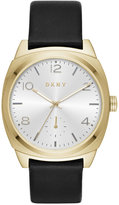 DKNY Women's Broome Black Leather Strap Watch 36mm NY2537