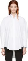 Calvin Klein Collection White Boxy Khia Shirt