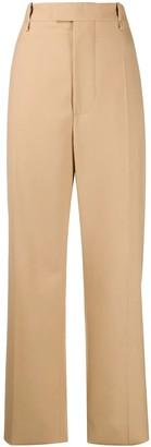 Bottega Veneta Camel High-waisted Pants