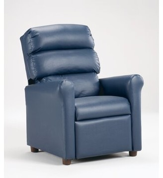 Zoomie Kids Coonrod Children's Chair Color: Vinyl Black