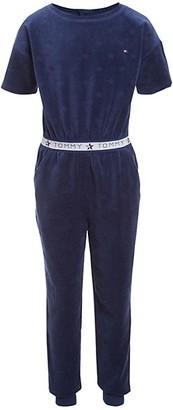 Tommy Hilfiger Girl's Velour Jumpsuit